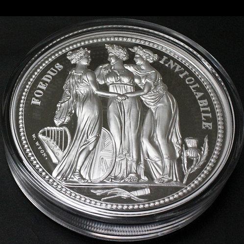 2020年オルダニー スリーグレイセス1kgプルーフ銀貨