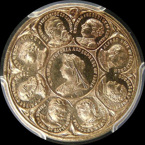 GB Victoria ND1897ヴィクトリア/プリンス・プリンセス・ウェールズメダル