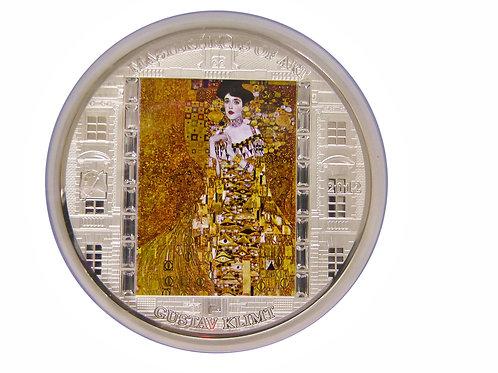 2012年 芸術の傑作シリーズ アデーレ・ブロッホ・バウアーの肖像銀貨 PF68UC