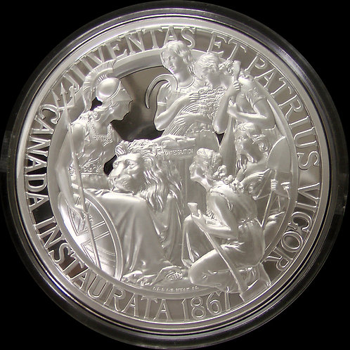 2017年 カナダ建国150周年記念銀貨 10oz