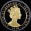 Thumbnail: 2020年マン島 10ポンド 5オンス ペニーブラック鍍金銀貨 最高鑑定 Makloufサイン入り!
