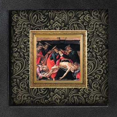 「キリストの死への嘆き」ボッティチェリ作 1オンス銀貨