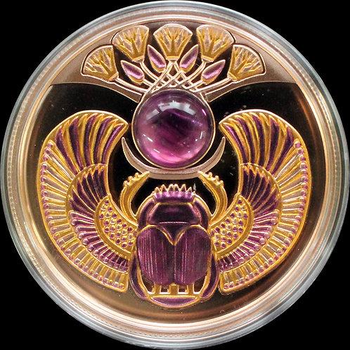 2021年アメジストのスカラベ プルーフ銀貨