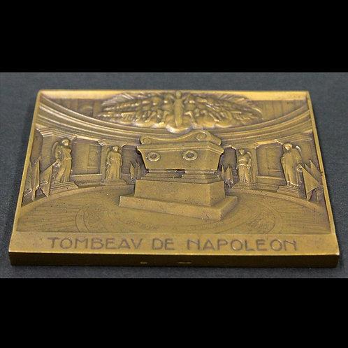 ナポレオン1世の石棺 大型銅板 uniface
