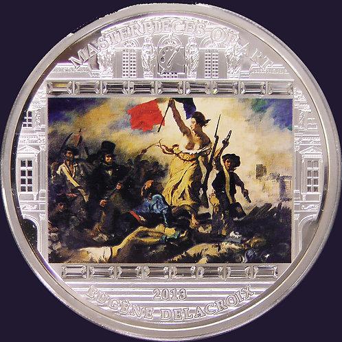 2013年 民衆を導く自由の女神 3オンス銀貨
