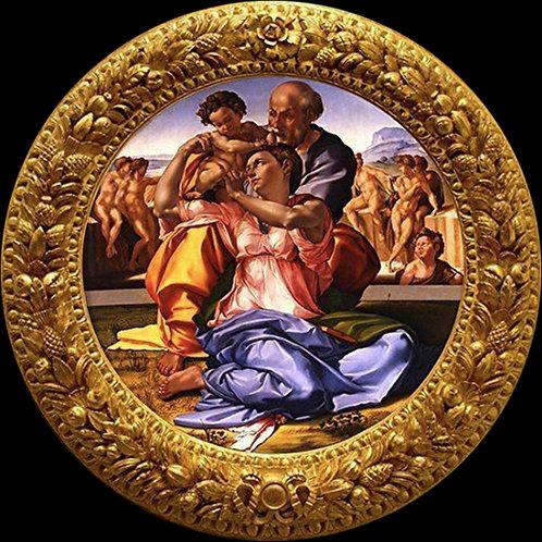 ミケランジェロ 『聖家族』銀貨