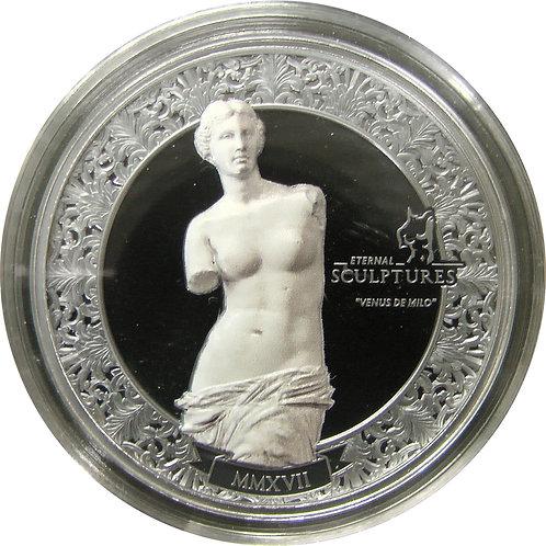 永遠の彫刻「ミロのヴィーナス」の銀貨