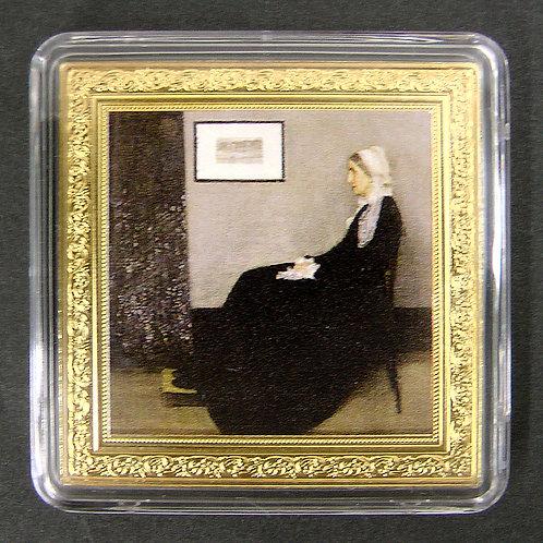 世界の宝物シリーズコイン 「ウィスラーの母」オルセー美術館