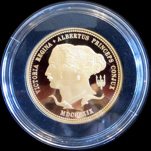 2019 イギリス ヴィクトリア女王生誕200周年記念 10ポンド金貨 5オンス プルーフ 新品未使用