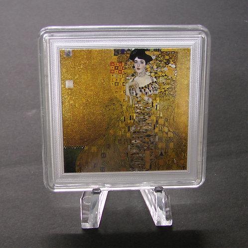 「アデーレ・ブロッホーバウアーの肖像1」の銀貨