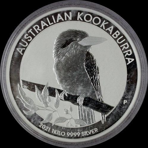 2021年パースミント 1kg ワライカワセミ BU銀貨