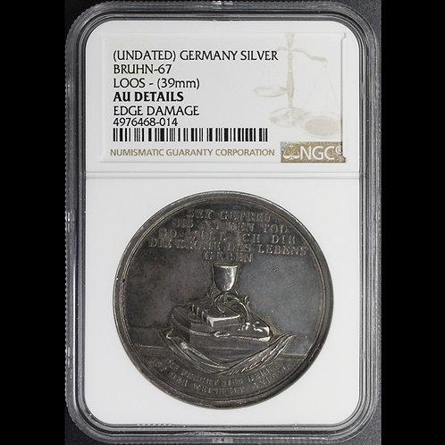 Loos medal    rare!!!ドイツ 銀メダル(ルースメダル)鑑定ずみ