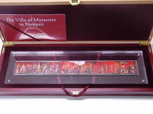 ヴィラ神秘のポンペイフレスコ画 9枚銀貨セット 発行数250のみ