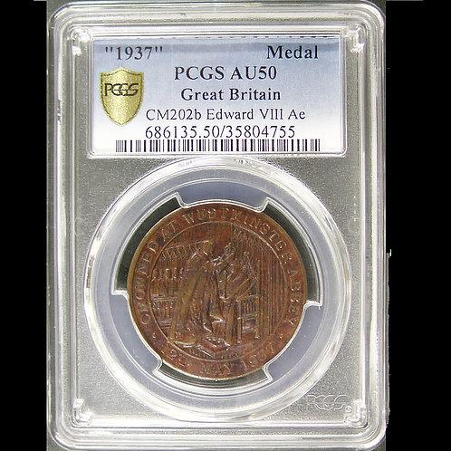 1937年 エドワード八世戴冠記念メダル 鑑定済み