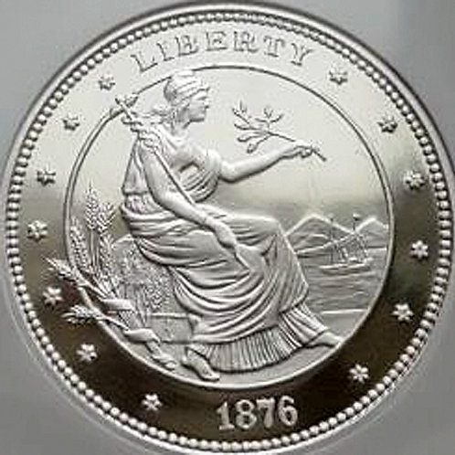 2008年 ジョージTモルガン$100UNION 1.5 Oz 銀貨 GEM Proof