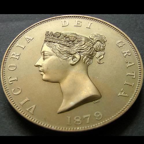 ヴィクトリア 1879年INA SPINK PATINA GOLDEN ALLOY CROWN