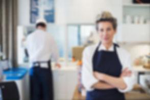 Szef kuchni kobieta