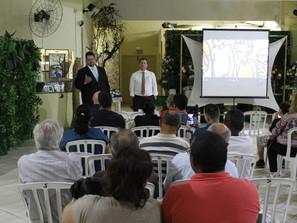 Palestra promovida pelo SECAMP para os trabalhadores (as) da Categoria e ao publico realizada no dia
