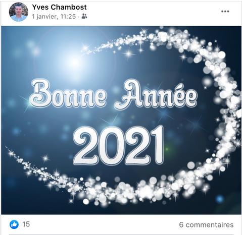 La Bonne année du maire d'Ouches !