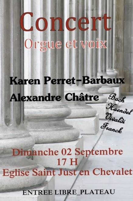 Vivaldi, Mozart, Mendelssohn interprétés le 2 septembre dans le Pays d'Urfé