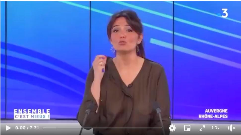 Le plateau de la Verrerie sur France 3 !