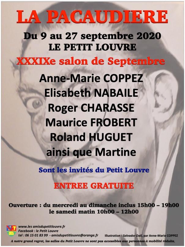 Le 39eSalon de Peintures du Petit Louvre à La Pacaudière se tiendra du9 au 27 septembre.