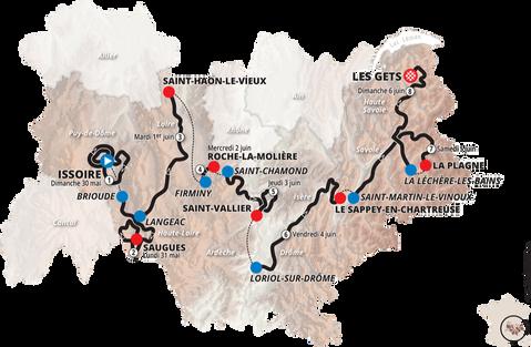 Critérium du Dauphiné : la Côte roannaise à l'honneur !