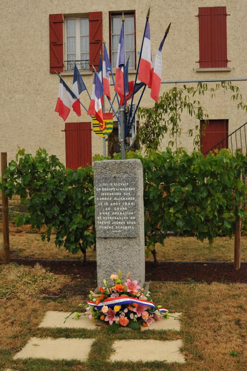 Témoignage poignant de Mme Ballutaud sur les événements du 10 août 1944 à Renaison