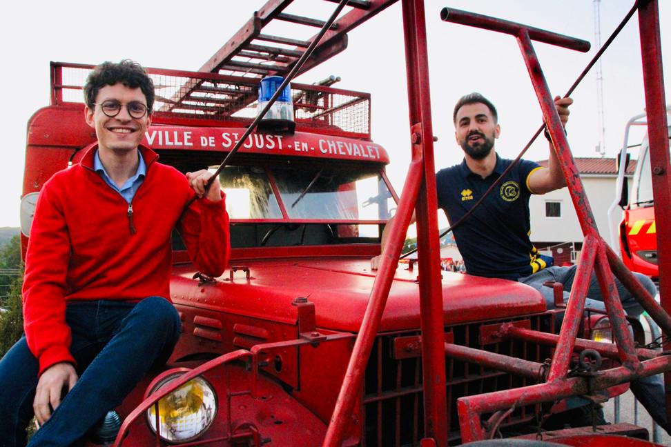 """120 ans de la caserne des Pompiers de Saint-Just : """"A nos souvenirs"""" en musique"""