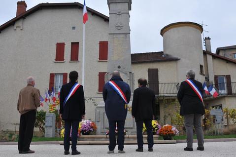11 novembre : A Renaison, une commémoration sans bruit et sans public