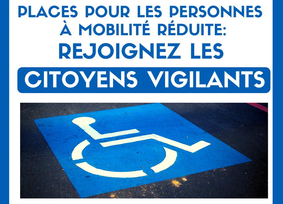 Handicap : rejoignez les citoyens vigilants!