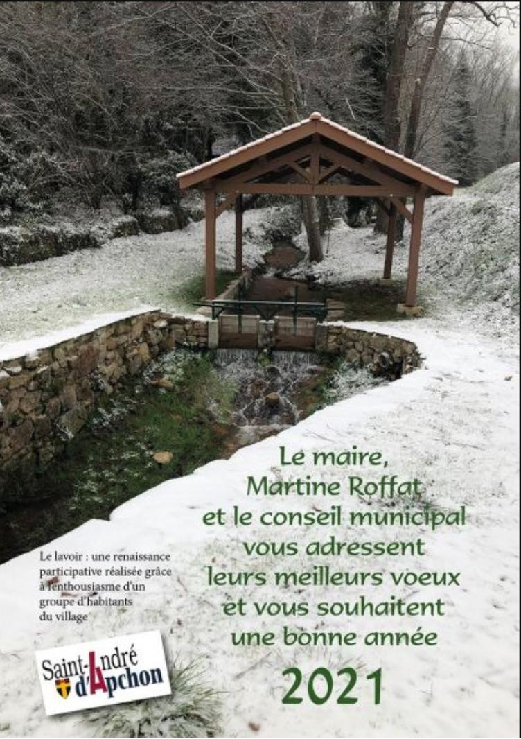 Saint André : les voeux enneigés de la municipalité