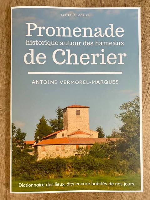"""Parution d'un ouvrage illustré sur Cherier """"Promenade historique autour des hameaux de Cher"""