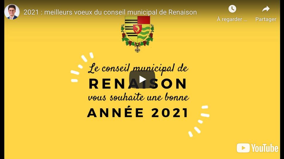Une vidéo collective pour la municipalité de Renaison