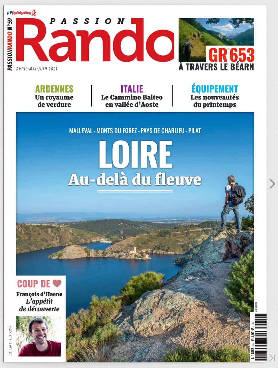 Quand un magazine national met en valeur nos chemins de randonnées