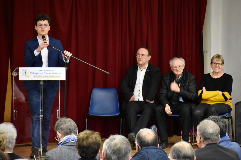 Vidéo et photos de notre assemblée générale avec Georges Ziegler et Damien Abad