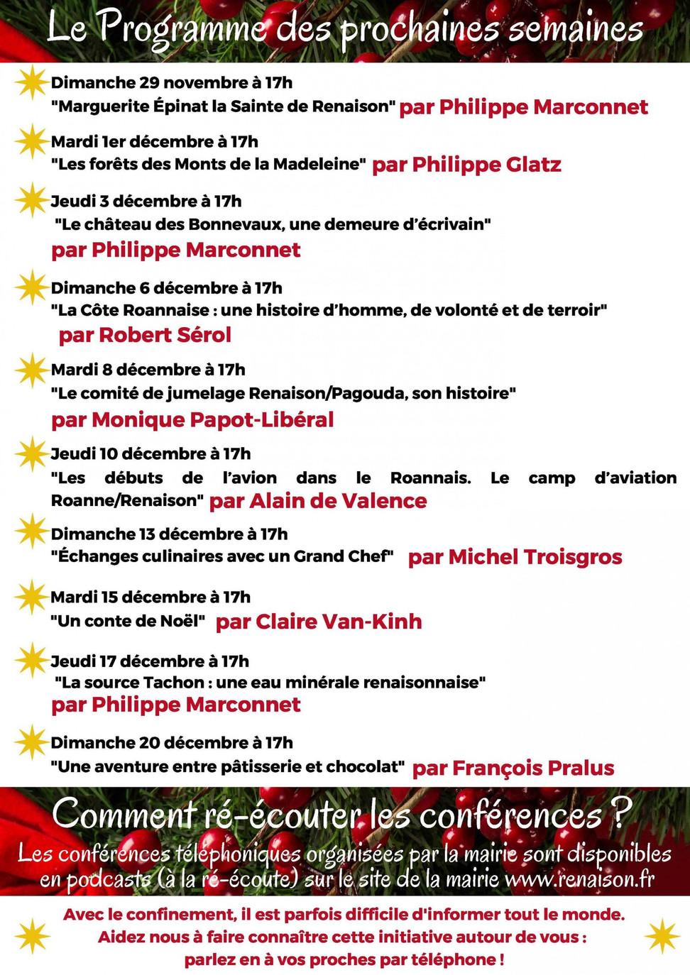 Des conférences téléphoniques gratuites pour sauver la culture dans le Roannais