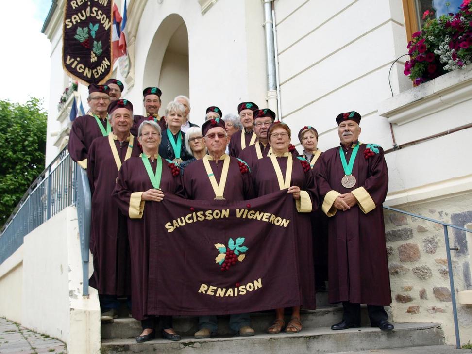 La Commanderie du Saucisson vigneron vous donne rendez vous le 7 décembre à Renaison !
