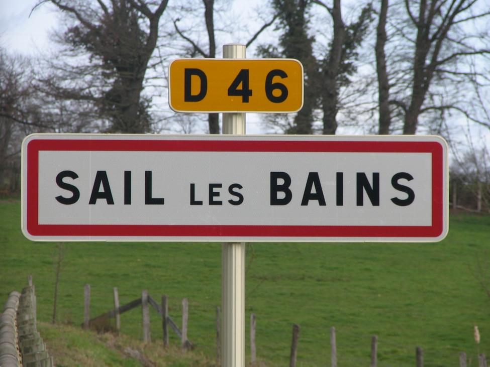 """Saviez vous que l'eau """"jaillissait"""" déjà, il y a 1200 ans, à Sail ?"""