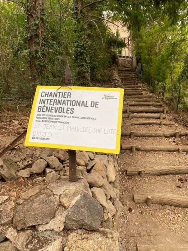 3 semaines de chantier international à Saint-Jean-Saint-Maurice