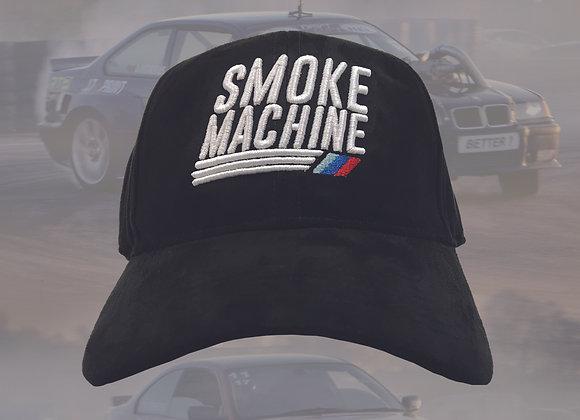 Smoke machine cap