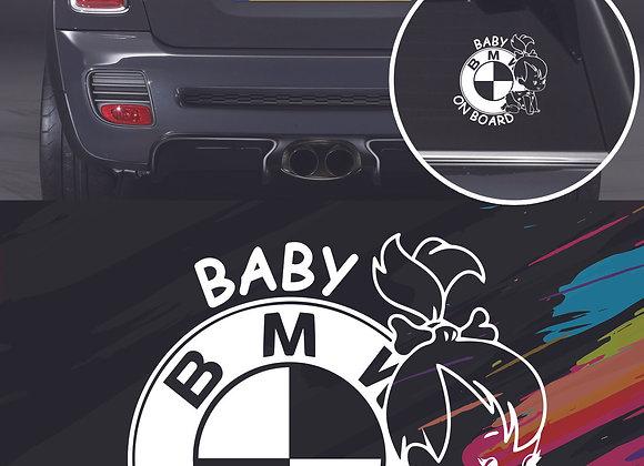 BMW baby on board sticker