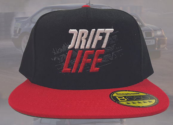 Snapback drift life cap