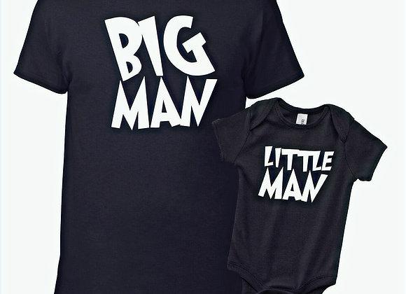 T-Shirt Big man Little man