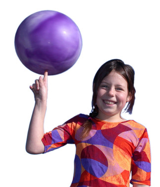 Science Circus Matilda Spins a Ball