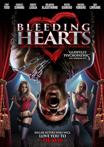 The DVD art for Bleeding Hearts, Bank's fourth film