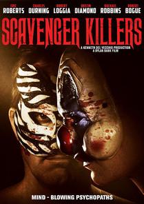 The DVD box art for Scavenger Killers, Bank's third film