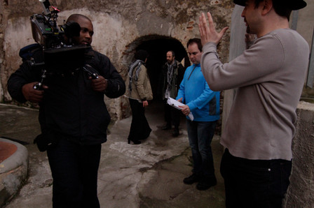 Dylan and Ken directing in Italy.jpg