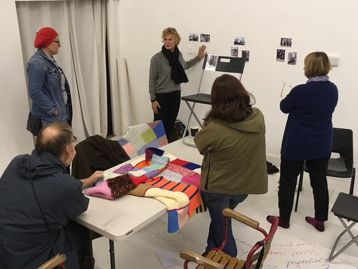Postcards from the Field: Collaboration in Curation