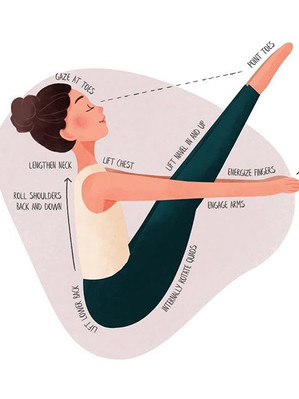 Pose 1 of my Beginner Yoga series_ Navas